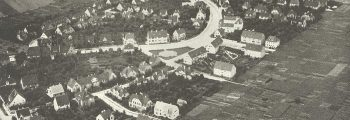1909 Gründung der Gartenstadt Hopfengarten